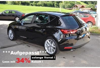"SEAT Leon 1.4 TSI FR 34% unter LP !!      ""Hallo Welt""   >"
